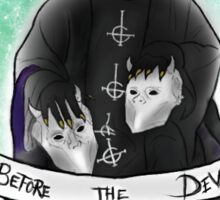 Papa Emeritus III w/ Ghouls Sticker