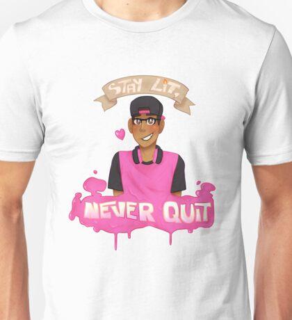 STAY LIT NEVER QUIT V.2 Unisex T-Shirt