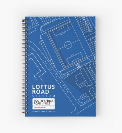 QPR - Loftus Road, W12 London  Spiral Notebook