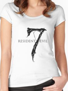 Resident Evil 7 Women's Fitted Scoop T-Shirt