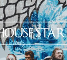 Game of Thrones: House Stark Family Sticker