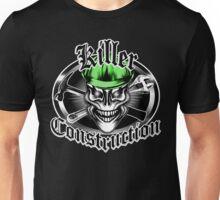 Construction Skull 1.1 green: Killer Construction Unisex T-Shirt