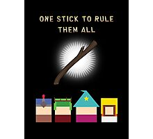 One Stick To Rule Them All Photographic Print