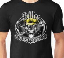 Construction Skull 1.1 yellow: Killer Construction Unisex T-Shirt