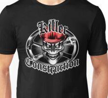 Construction Skull 1.1 red: Killer Construction Unisex T-Shirt