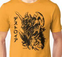 Waterbrushed Space Demon Unisex T-Shirt