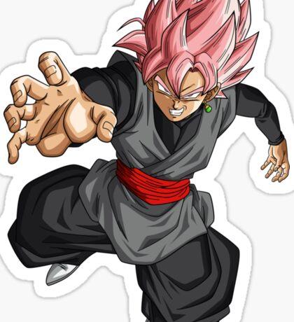 Super Saiyan Rose Goku Black Sticker
