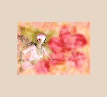 Fairy on Bokeh background Womens Fitted T-Shirt