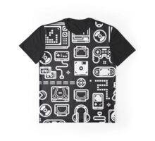 Retro Gamer Video Game Consoles, PC's, Controllers, Joysticks and Gamepads Graphic T-Shirt