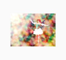 Fairy on Bokeh background 3 Womens Fitted T-Shirt