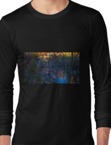 Bridge over tranquil water Long Sleeve T-Shirt