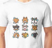 Dog Wash - Vector Illustration Unisex T-Shirt