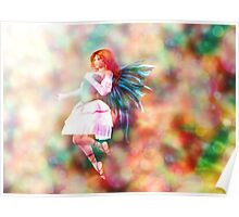 Fairy on Bokeh background 4 Poster