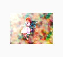 Fairy on Bokeh background 4 Womens Fitted T-Shirt