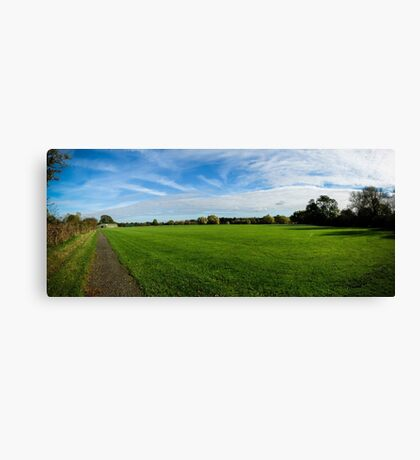 Roding Valley Nature Reserve Canvas Print