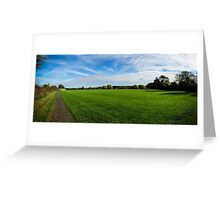 Roding Valley Nature Reserve Greeting Card