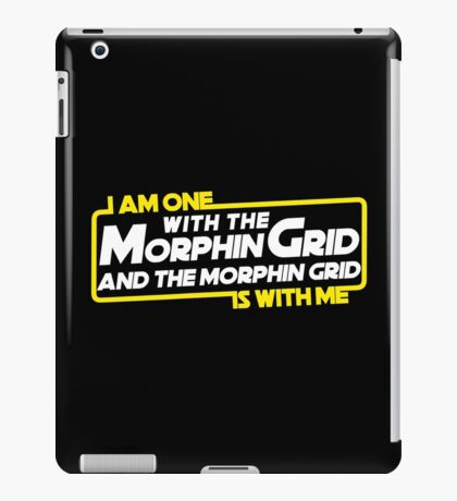 One With The Morphin  iPad Case/Skin