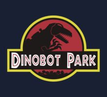 Dinobot Park Kids Tee
