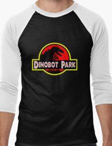 Dinobot Park Men's Baseball ¾ T-Shirt
