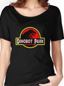 Dinobot Park Women's Relaxed Fit T-Shirt
