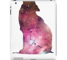 Wolf howling into space iPad Case/Skin