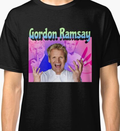 Gordon Ramsay 90s retro Classic T-Shirt