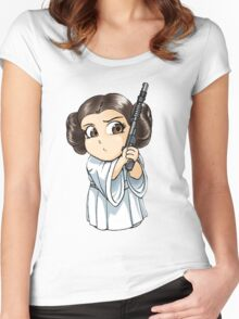 Princess Leia Women's Fitted Scoop T-Shirt