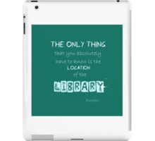 Location of the Library iPad Case/Skin