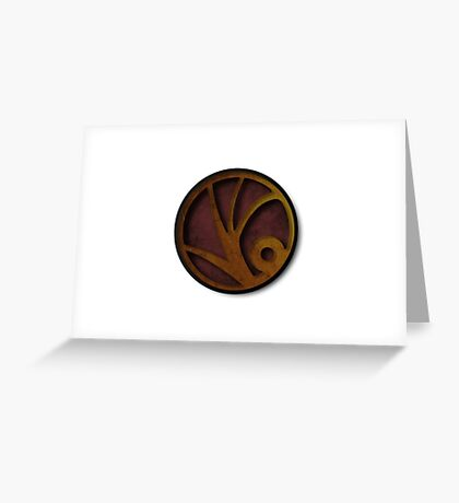 A Series of Unfortunate Events symbol Greeting Card