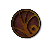 A Series of Unfortunate Events symbol Photographic Print