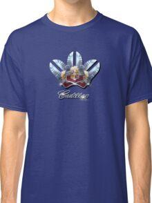 Cadillac Chrome emblem Design by MotorManiac. Classic T-Shirt