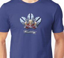 Cadillac Chrome emblem Design by MotorManiac. Unisex T-Shirt