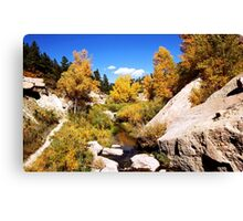 picture book fall Canvas Print