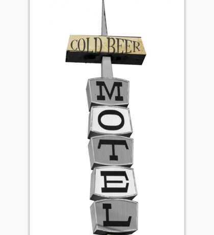 Fifties American Motel Sticker