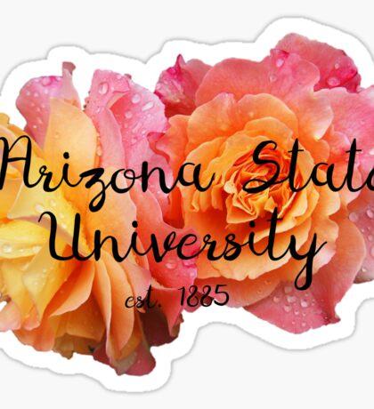 Arizona State University ASU Roses Sticker