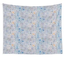 Home By The Sea Wall Tapestry