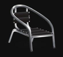 Glitch furniture armchair metal coffee armchair by wetdryvac