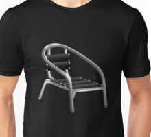 Glitch furniture armchair metal coffee armchair Unisex T-Shirt