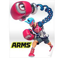 ARMS - Nintendo Switch Boxing Poster