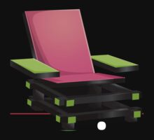 Glitch furniture armchair modern box armchair by wetdryvac