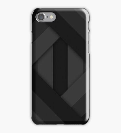 Ribbons [Slate] iPhone Case/Skin