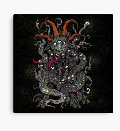 Dreams of the Black Goat Canvas Print