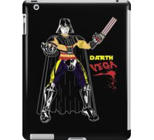 Darth Vega iPad Case/Skin