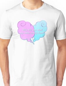 Cotton Candy Heart Unisex T-Shirt