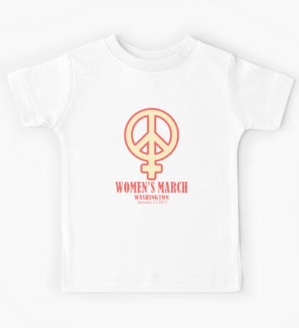 Women's March Kids Tee