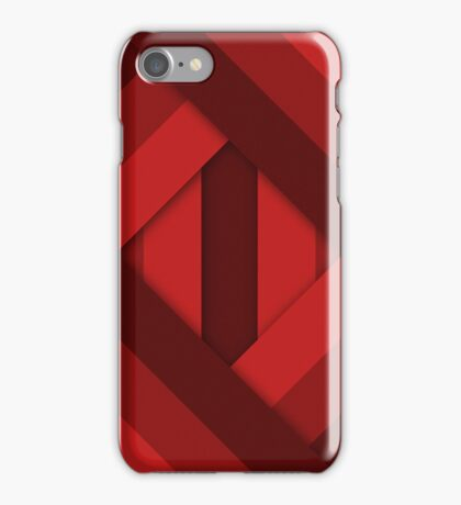 Ribbons [Red] iPhone Case/Skin