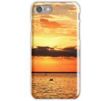 Elwood Beach sunset iPhone Case/Skin