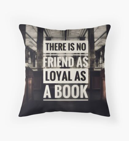 Ernest Hemingway Quote Throw Pillow