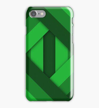Ribbons [Green] iPhone Case/Skin