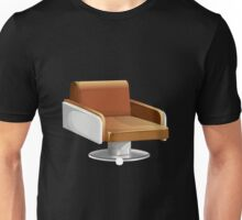 Glitch furniture armchair orange round armchair Unisex T-Shirt